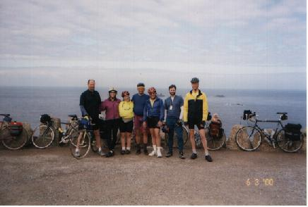 Picture of Group at Land's End